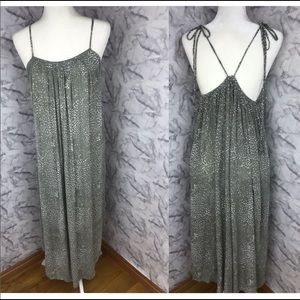 Gillia Flowy Printed Midi Sun Dress